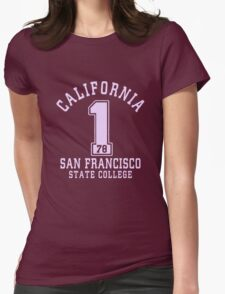 San Francisco sport athletic Womens Fitted T-Shirt