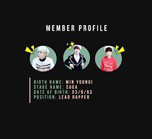 Min Yoongi--member profile Unisex T-Shirt