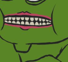 Pepe Deuces! Sticker