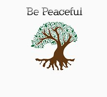 Be Peaceful Tree - Color Unisex T-Shirt