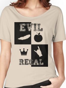 Evil Regal - Feather/Apple/Crown/Hand Women's Relaxed Fit T-Shirt