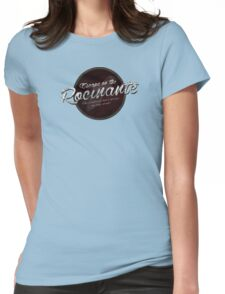 The Expanse - Rocinante - Red Dirty Womens Fitted T-Shirt