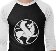 THE FLYING LION Men's Baseball ¾ T-Shirt