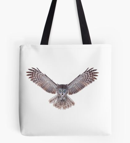 Power - Great Grey Owl Tote Bag