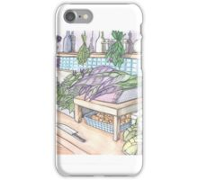 Vegetable Shop iPhone Case/Skin