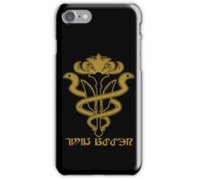The Order of The Twin Adder iPhone Case/Skin