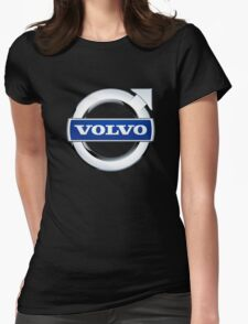 volvo vintage Womens Fitted T-Shirt
