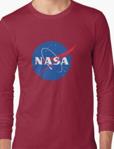 old retro nasa Long Sleeve T-Shirt