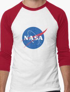 old retro nasa Men's Baseball ¾ T-Shirt