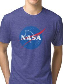 old retro nasa Tri-blend T-Shirt