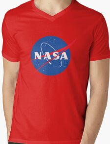 old retro nasa Mens V-Neck T-Shirt