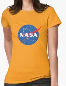 old retro nasa Womens Fitted T-Shirt