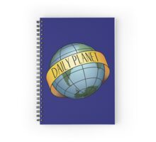 Daily Planet - Color Spiral Notebook