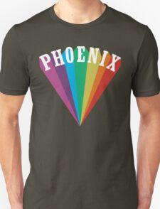 Phoenix Rainbow Design T-Shirt