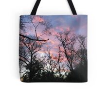 candy sunset Tote Bag