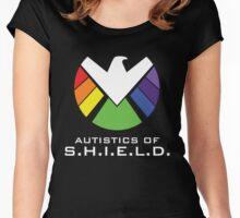 Autistics of S.H.I.E.L.D. Women's Fitted Scoop T-Shirt