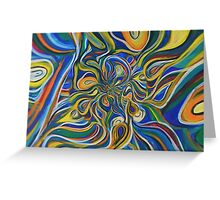 Abstract composition 230 Greeting Card