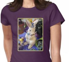 Time for the Easter Bunny Womens Fitted T-Shirt