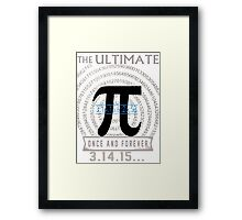 pi day Framed Print