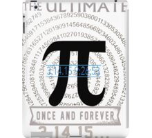 pi day iPad Case/Skin