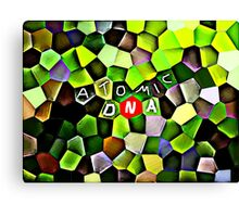 Atomic DNA Canvas Print