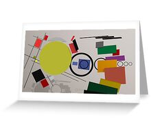 Abstract composition 232 Greeting Card
