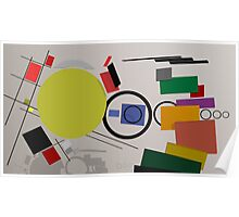 Abstract composition 232 Poster