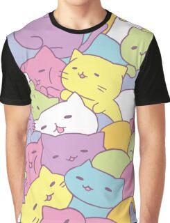 Mitchiri Neko Kittens Graphic T-Shirt