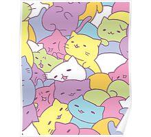 Mitchiri Neko Kittens Poster