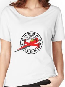 Cowboy Bebop - Swordfish (Old Stamp Style) Women's Relaxed Fit T-Shirt