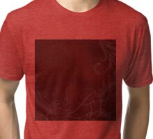 Red Love, #red, #redbubble, #abstract, #design Tri-blend T-Shirt