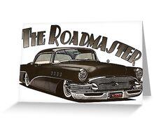 1956 Buick Roadmaster - Black 3 Greeting Card