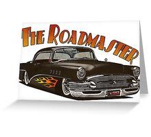 1956 Buick Roadmaster - Black 4 Greeting Card