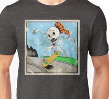 Retro Skeleton Kickflip! Unisex T-Shirt
