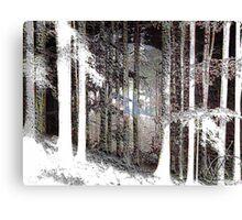 Trees series Canvas Print