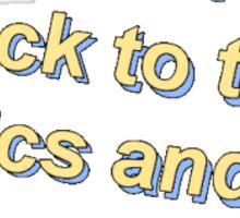 ease lyrics Sticker