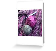 yarn balls Greeting Card