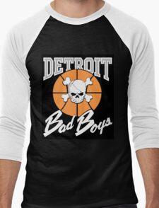 The Detroit Bad Boys (Pistons) Men's Baseball ¾ T-Shirt