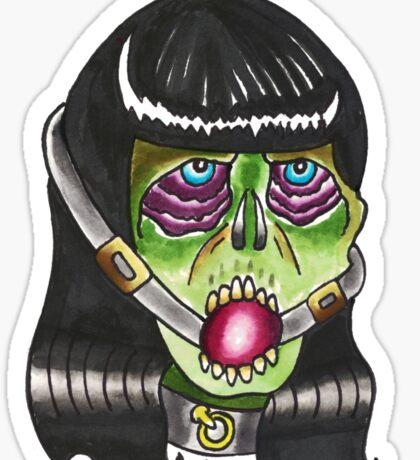 Zombie Bettie Sticker