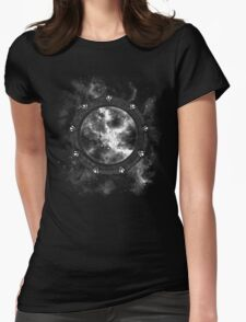 Travel to the Stars Womens Fitted T-Shirt