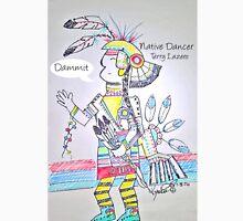 Native Dancer Cartoon Unisex T-Shirt