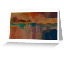 Abstract composition 290 Greeting Card