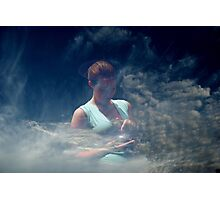 Chick in the sky Photographic Print