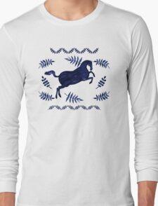 Ancient Greek Fresco Long Sleeve T-Shirt