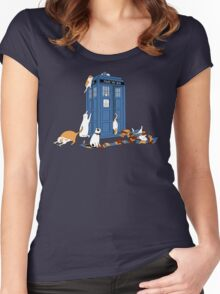 Time Travelers Women's Fitted Scoop T-Shirt