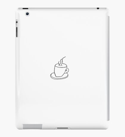 cup of tea louis tattoo -one direction iPad Case/Skin
