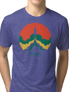 Up And Beyond Tri-blend T-Shirt