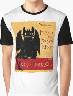 Dragon Noir Graphic T-Shirt