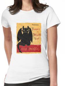 Dragon Noir Womens Fitted T-Shirt