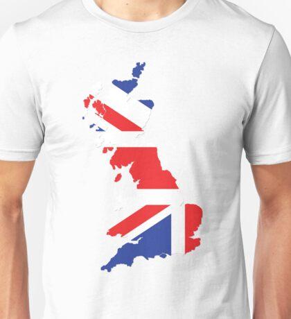 United Kingdom map Unisex T-Shirt